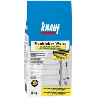 Flexibilní cementové lepidlo na obklady a dlažbu Knauf Flexkleber C2TE S1 bílé mrazuvzdorné 5 kg