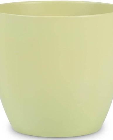 Obal na květináč keramický scheurich 920, ø22cm, barva světle zelená