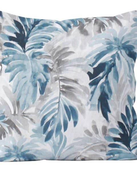 BAUMAX Polštář Tropical Forest s Výplní, modrobílá, 40x40 cm