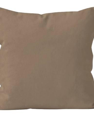Polštář Jednobarevný s Výplní, Hnědá, 40x40 cm (109)