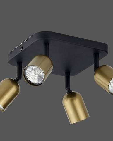 Svítidlo Top black/gold 3307 LS4