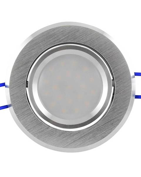 BAUMAX Bodové světlo LED Olal -IO84WWS2-200 3,5W stříbrné