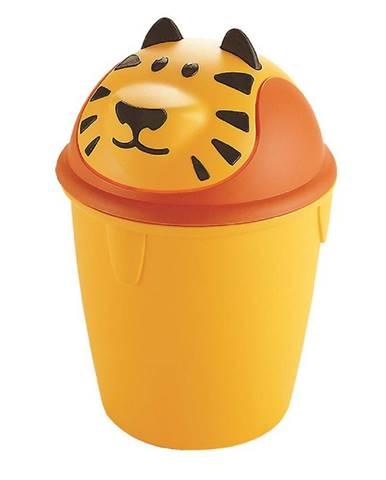"""Odpadkový koš """"tygr"""" pro děti 12l 155181"""