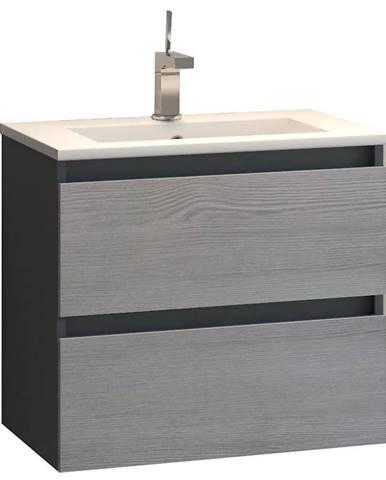 Skříňka s umyvadlem antracit Spirit 521700 60