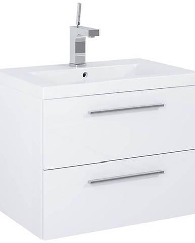 Skříňka s umyvadlem bílá Boa Vista 0D2S 60