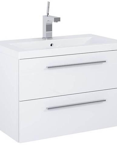 Skříňka s umyvadlem bílá Boa Vista 0D2S 70