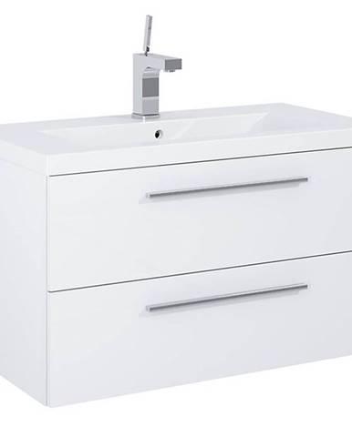 Skříňka s umyvadlem bílá Boa Vista 0D2S 80