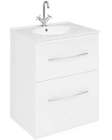 Skříňka s umyvadlem bílá Viva 521687 60