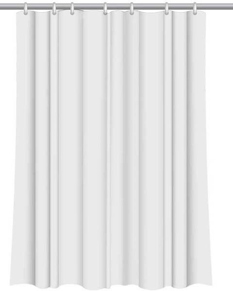 BAUMAX Sprchový závěs Star 180x200 bílý