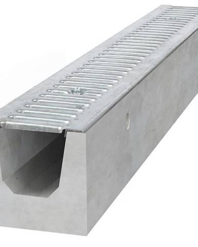 Betonový žlab TLA15 1000X130X120