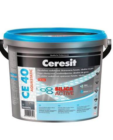 Spárovací hmota Ceresit CE 40 Aquastatic 2 kg cementgrey