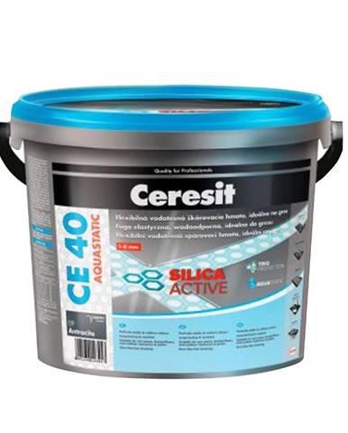 Spárovací hmota Ceresit CE 40 Aquastatic 5 kg chocolate