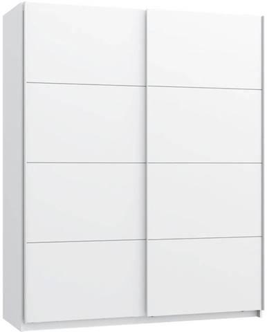 Skříň Starlet White 170cm Bílý