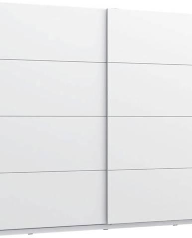 Skříň Starlet White 220cm Bílý