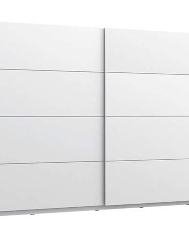Skříň Starlet White 270cm Bílý