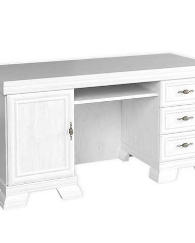 Psací Stůl Kora 148 cm Bílá, KB