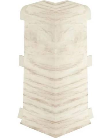 Rohová spojka vnější Esquero 604 platan bianco 2ks