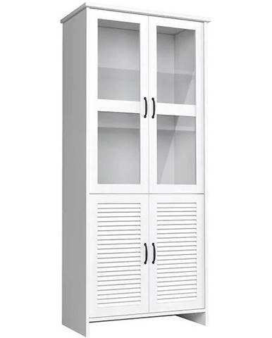 Vitrína Orient 88,4 cm Bílá, W2DS
