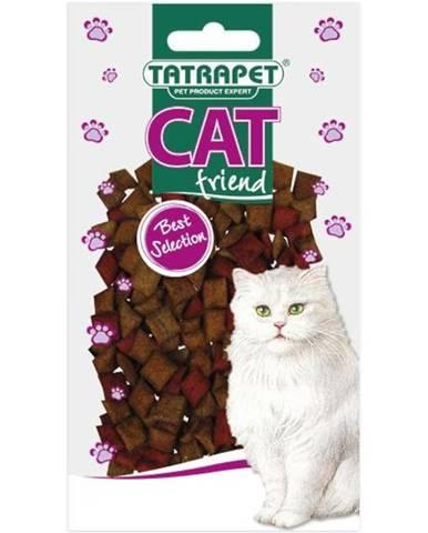 Pochoutka plněné polštářky mix pro kočky 50g  Cat Friend