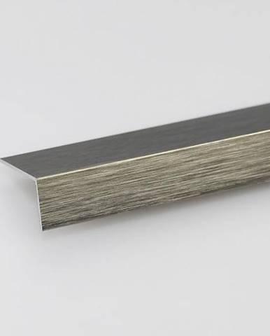 Rohový Profil ALU Kartáčovaný Titan 15x15x2000