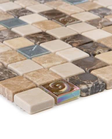 Mozaika marmor Java beige/glas Relief 52615 30x30x0,8
