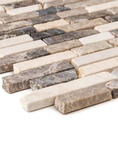 Mozaika marmormix braun beige 53810 30,5x30,5