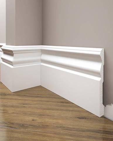 Podlahová lišta Elegance LPC-09-101 bílá mat