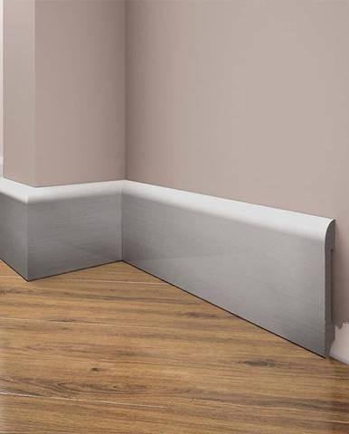 Podlahová lišta Elegance LPC-11-148 stříbrný kartáčovaný