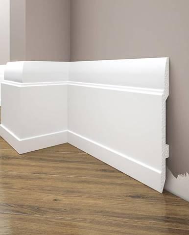Podlahová lišta Elegance LPC-25-101 bílá mat