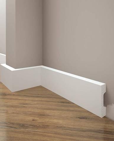 Podlahová lišta Elegance LPC-27-101 bílá mat