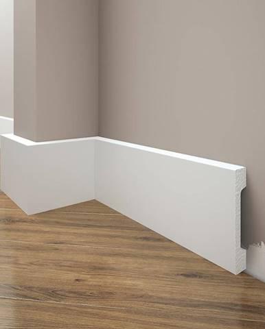 Podlahová lišta Elegance LPC-28-T101 bílá satén