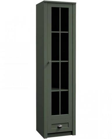 Vitrína Prowansja 50cm Green, W1S