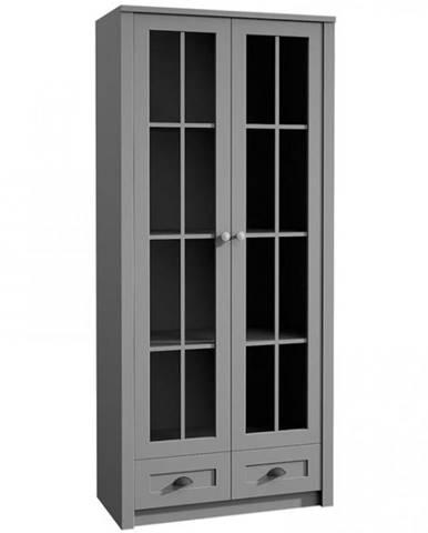 Vitrína Prowansja 90cm Grey, W2S