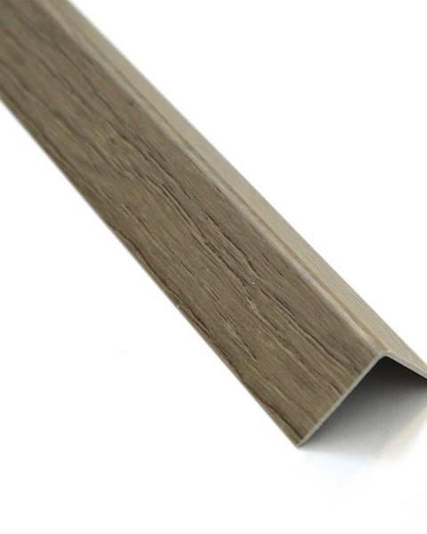 PARQUET MERCADO Rohový Profil Samolepící  PVC Dub Sonoma 19,5x19,5x1000