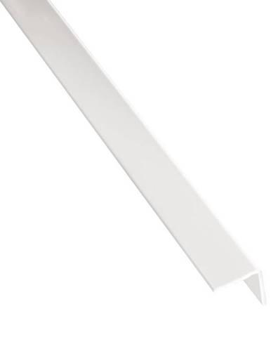 Rohový Profil Samolepící  PVC  Bílý Lesk 19,5x19,5x1000