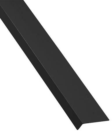 Rohový Profil Samolepící  PVC  Černý Mat 19,5x11,5x1000