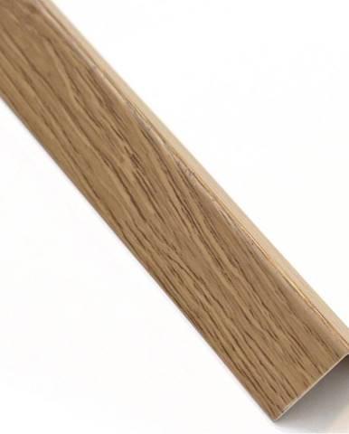 Rohový Profil Samolepící  PVC Dub Salinas 19,5x19,5x1000