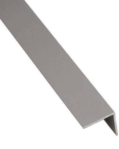Rohový Profil Samolepící  PVC Šedý Mat 19,5x19,5x1000