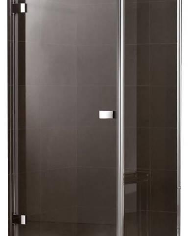 Sprchový kout čtvercový Maja 90x90x190 hnědá-chrom