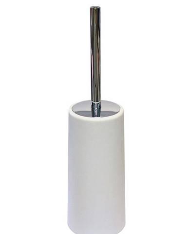 WC štětka Calypso bílá +chrom