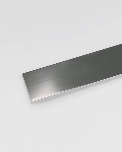 PARQUET MERCADO Profil plohý hliník chrom 20x2000
