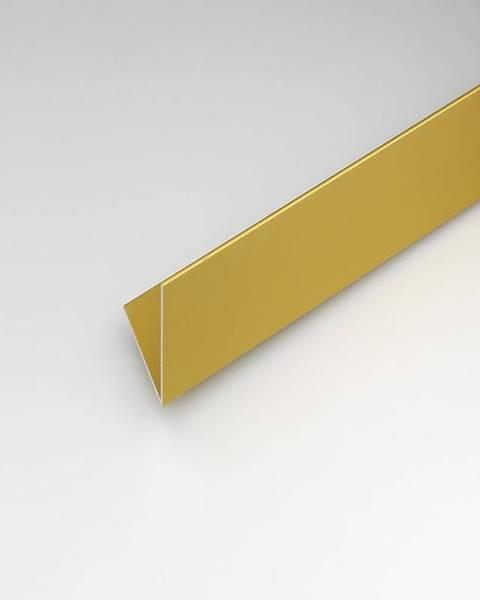 PARQUET MERCADO Rohový Profil ALU Merc Zlatý 10x10x2000