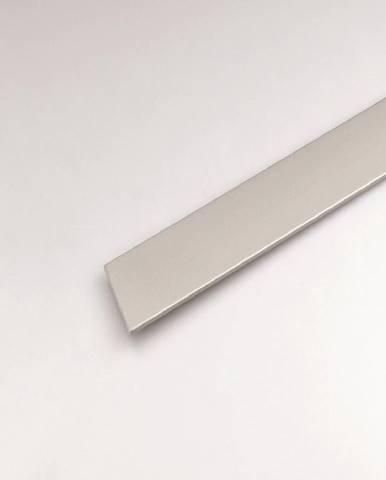 Profil plohý hliník  stříbrný 20x2000