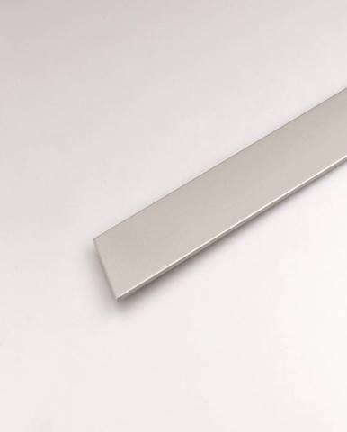 Profil plohý hliník  stříbrný 30x2000