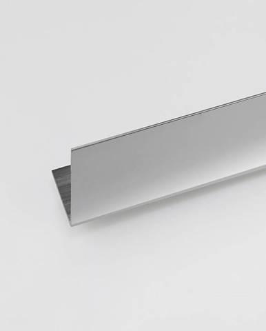 Rohový Profil ALU Chrom 10x10x2000