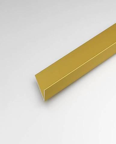 Rohový Profil ALU Merc Zlatý 20x10x2000