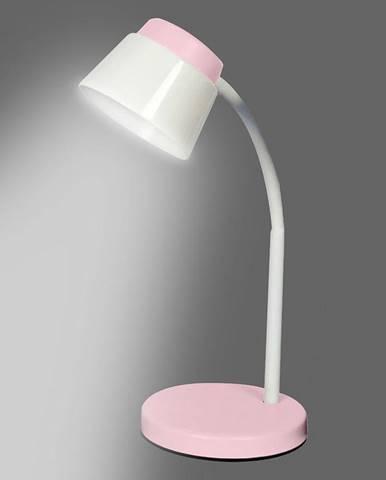Stolní lampa LED 1607 5W RUZOVY LB1