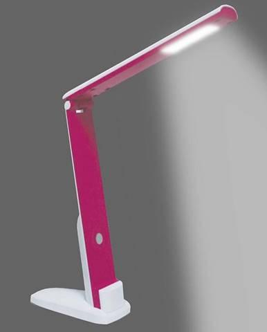 Stolní lampa LED H1601 5W BILA-RUZOVY LB1