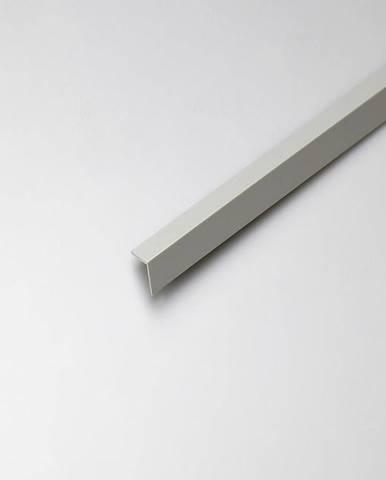 Rohový Profil PVC Šedý Satén 20x10x1000