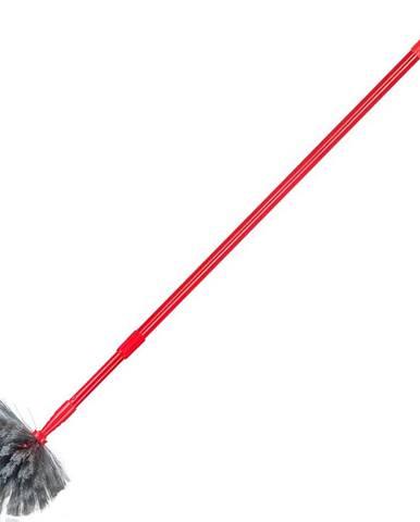 Prachovka s dlouhou tyčí, červená
